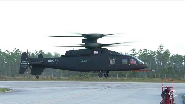难以望其项背!美复合旋翼直升机完整状态首次试飞