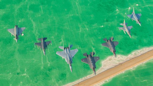 能否延续过往战绩?以色列F-35战机首次亮相国际军演