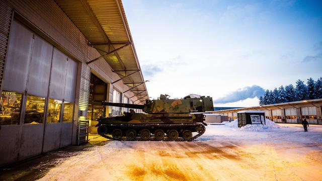 性能比我PLZ52咋样?韩国K9自行榴弹炮装备挪威步兵旅