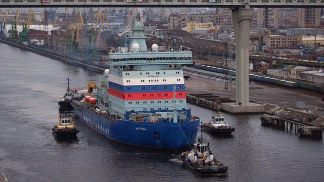 霸气侧漏!俄3万吨核动力巨舰海试体量无可比拟