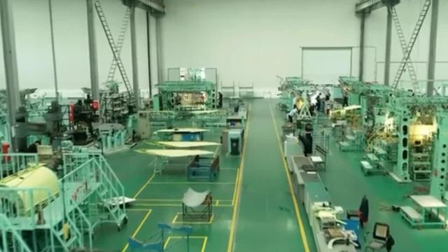 新机翼摆了一地!贵飞生产线曝光工业水平越来越强