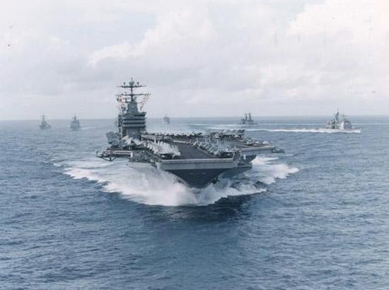 """·斯坦尼斯""""号航空母舰战斗群-美军将推出绿色航母舰队 走得更远"""