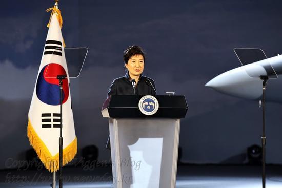 资料图:韩国总统朴槿惠