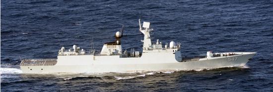 054A型护卫舰临沂舰