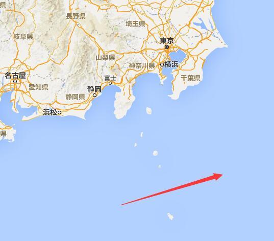 日本防卫省所说的该舰航行大致航线