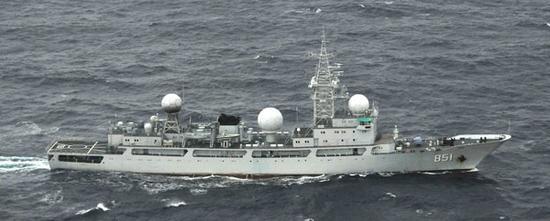 中国海军电子侦察船