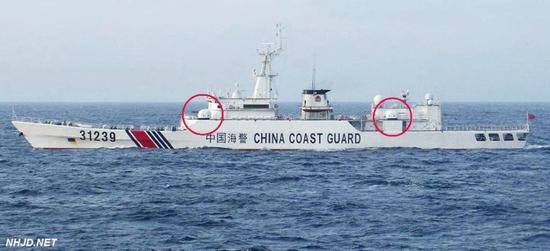 资料图:中国海警船