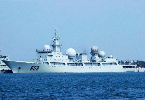 资料图:中国侦察船