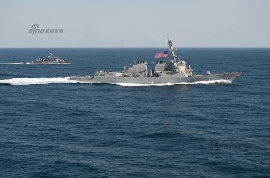 资料图:美国军舰巡航南海