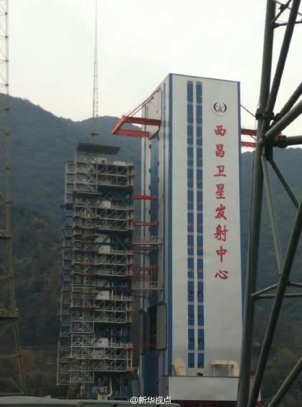 高分四号卫星发射现场