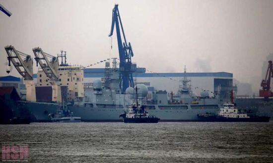 中国海军近年的高速发展与造舰速度经常被人形容为
