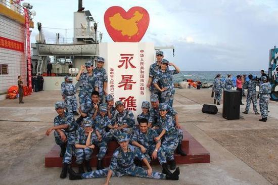 资料图:中国永暑礁