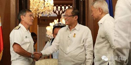 美军太平洋司令部司令哈里斯访问菲律宾