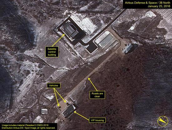 美研究机构公开朝鲜导弹基地最新卫星图像