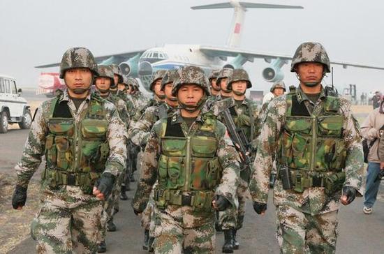 资料图:解放军训练-军事 五大战区陆军机关驻地曝光称福州南宁兰州