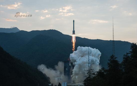 资料图:北斗卫星发射成功