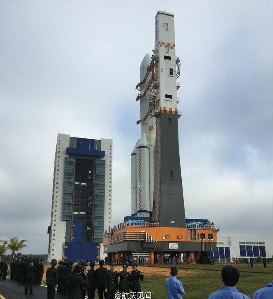 中国长征五号重型火箭