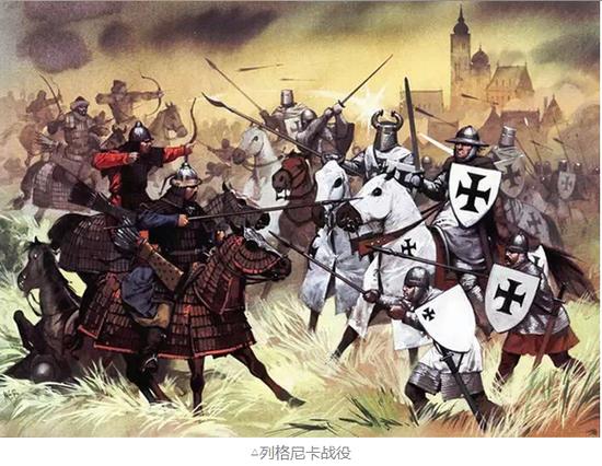 蒙古铁骑进军东欧大战条顿骑士团