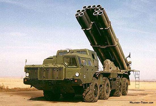 苏联BM-30火箭炮当时在射程方面独步天下