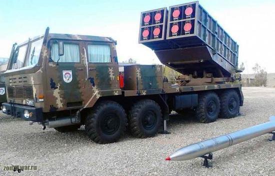 """亚美尼亚装备的WM-80火箭炮,在这个国家,它属于""""战略威慑武器"""",用来与土耳其的TR-300(WS-1)""""叫板"""""""
