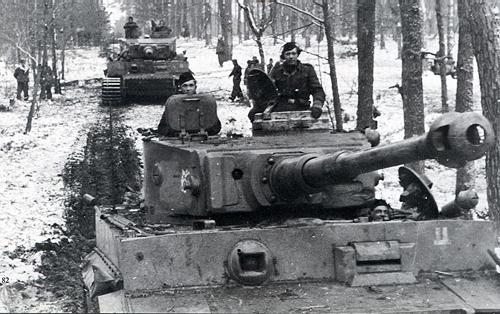 二战德军强大的装甲集团