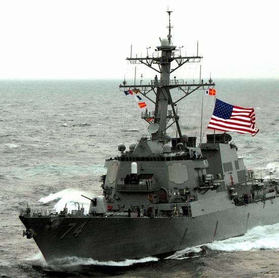 质料图:美军战舰