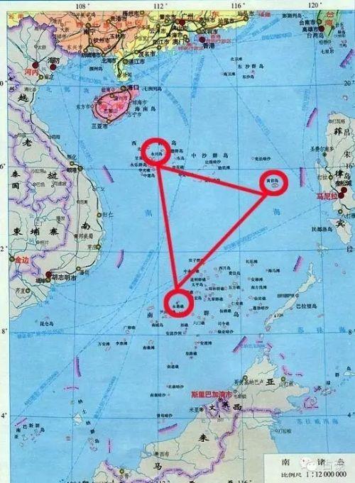 在菲律宾和越南大门口不远处构筑了有永兴岛、黄岩岛和永暑岛组成的铁三角