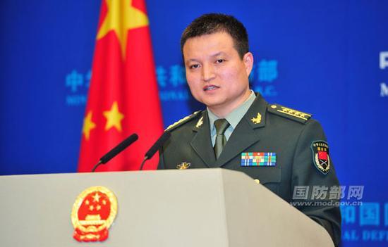 国防部消息局局长、国防部消息讲话人杨宇军大校