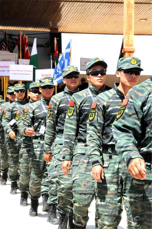 中国特种兵将赴俄联演 与俄近卫军切磋训练图片