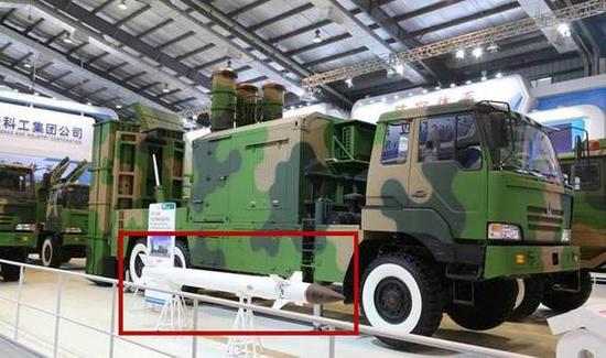 国产FM-3000中近程防空导弹武器系统