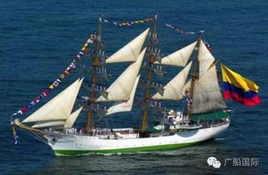 葡萄牙经典风帆训练舰Sagres (萨格雷斯)号