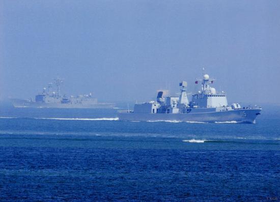 中国海军115沈阳舰