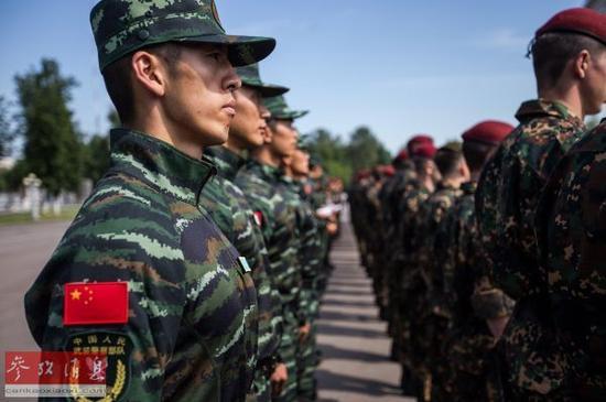 中国两大特种部队与俄精锐部队军演 旨在加强一能力图片