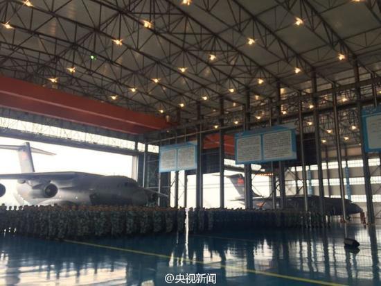 中国空军今日正式接收运20飞机