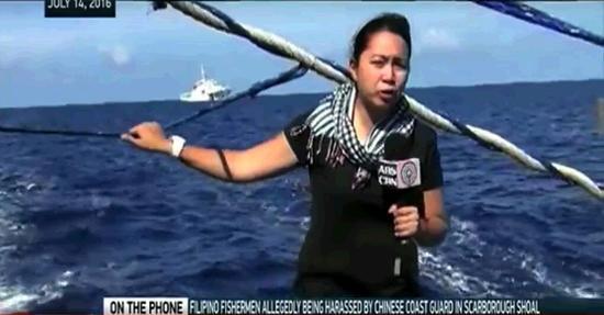 菲律宾渔船闯黄岩岛被中国海警拦