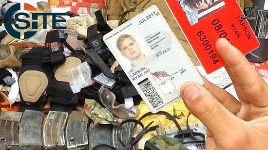 IS晒图声称缴获在阿富汗美军大量武器装备