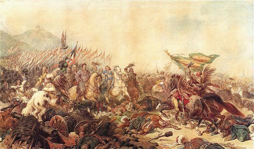 油画《扬三世·索别斯基在维也纳》