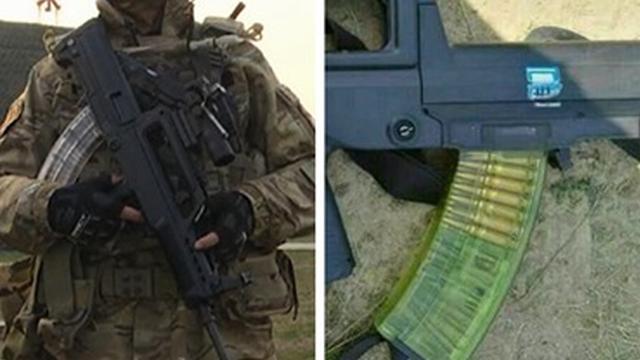 瞬间高大上!中国95式步枪专用透明弹夹曝光
