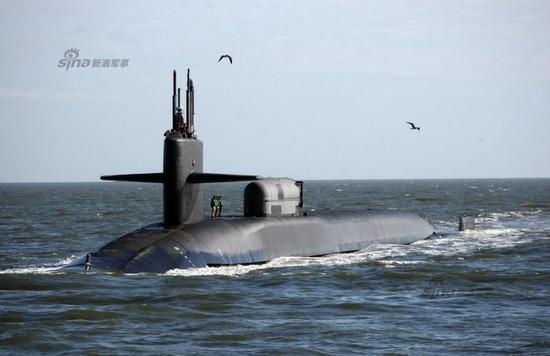 美国现役俄亥俄级战略核潜艇