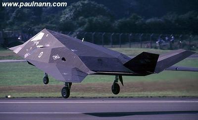 美国f-117隐形飞机