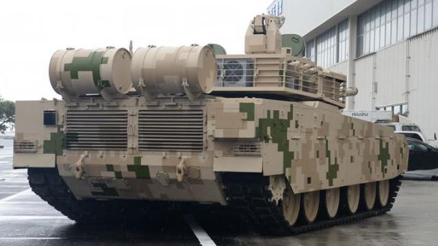 土豪配置就是厉害!VT-4坦克细节可见空调外机