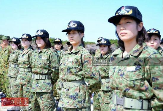 日本自卫队女兵
