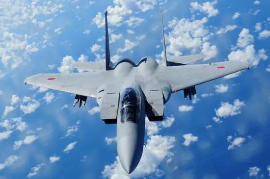 △日本航空自卫队的F-15J战斗机