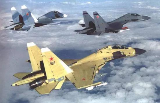 △早期的苏-30M试验机,目前这一构型的苏-30已经停产