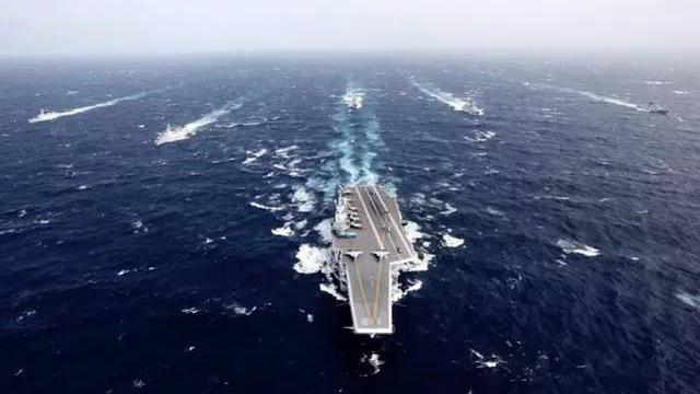 中国海军迎接2017:航母在南海 两舰队在印度洋-军事频道 最多军迷首.图片 32128 640x360