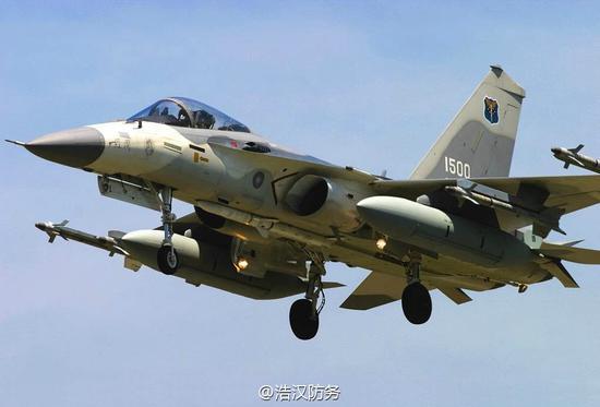 台军IDF战斗机