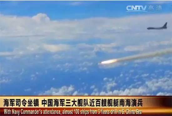 轰-6发射鹰击-12