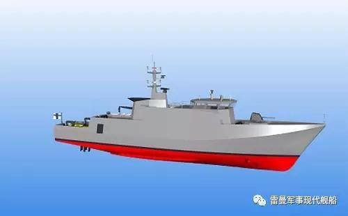 印度海军未来猎雷舰(MCMVs)的想象图