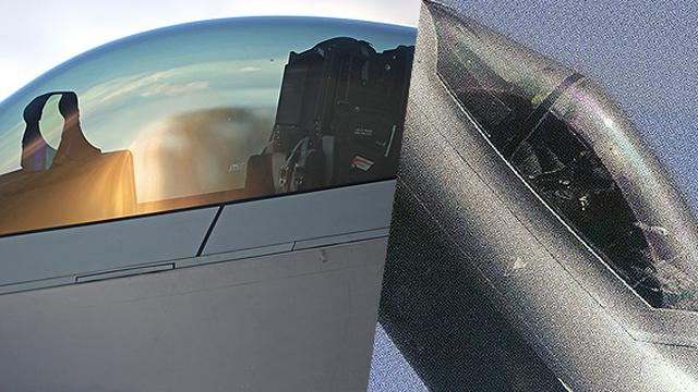 中美战机制造工艺的巅峰!歼20和F22座舱对比