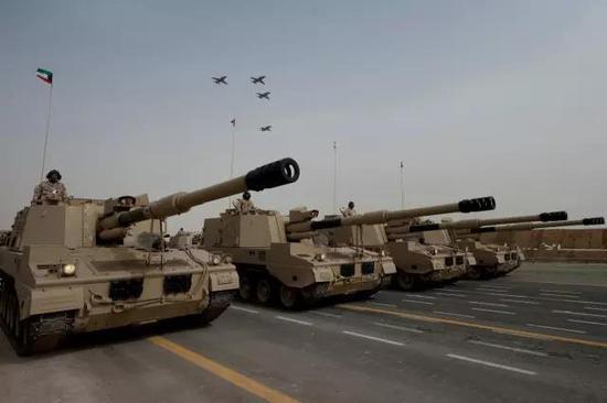 科威特装备的PLZ-45自行榴弹炮
